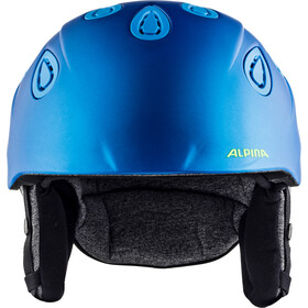 Alpina Grap 2.0 Casque, blue-neon-yellow matt